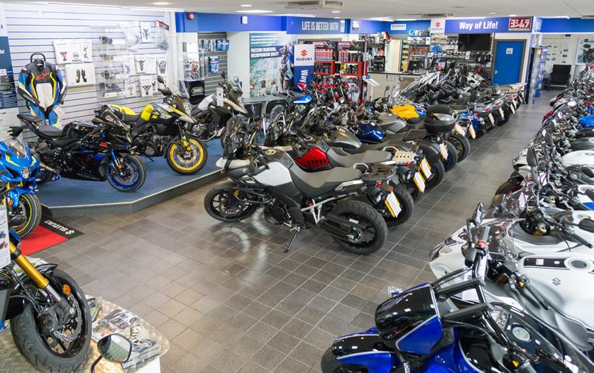 Cupar Motorcycles Suzuki Scotland